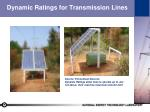 dynamic ratings for transmission lines