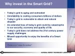why invest in the smart grid
