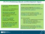 ifc fy12 preliminary results and development impact