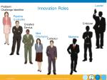 innovation roles