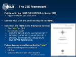 the ces framework