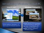 introducing windows virtual pc