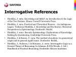 interrogative references