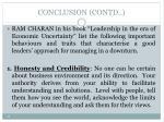 conclusion contd1