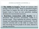conclusion contd2