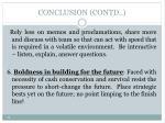 conclusion contd4