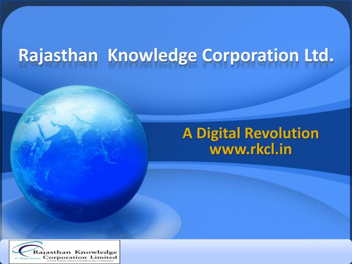 rajasthan knowledge corporation ltd n.