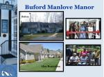 buford manlove manor