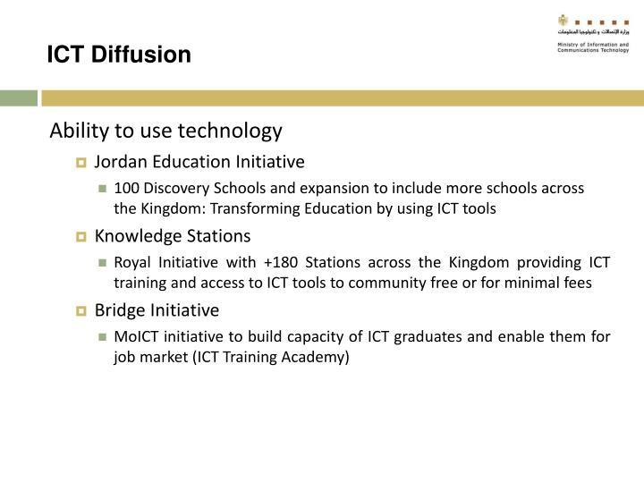 ICT Diffusion
