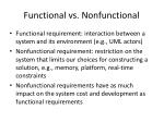 functional vs nonfunctional