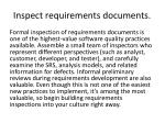 inspect requirements documents