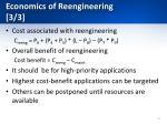 economics of reengineering 3 3