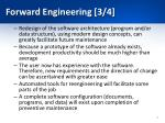 forward engineering 3 4