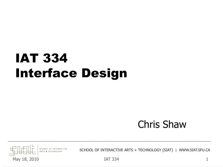 iat 334 interface design n.