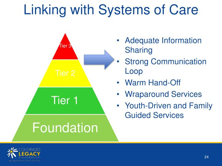 Linking with Systems of Care