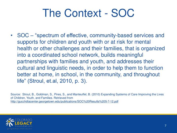The Context - SOC