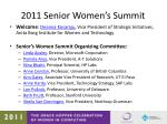 2011 senior women s summit