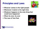 principles and laws