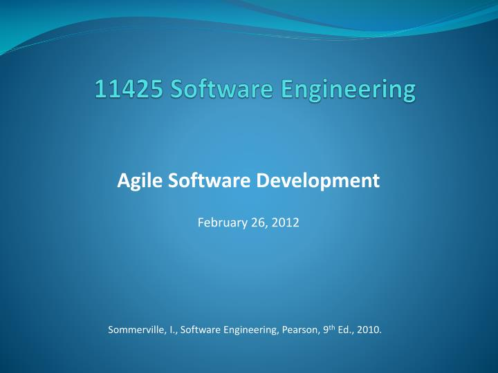 11425 software engineering n.