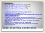 local planning documents