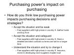 purchasing power s impact on purchasing