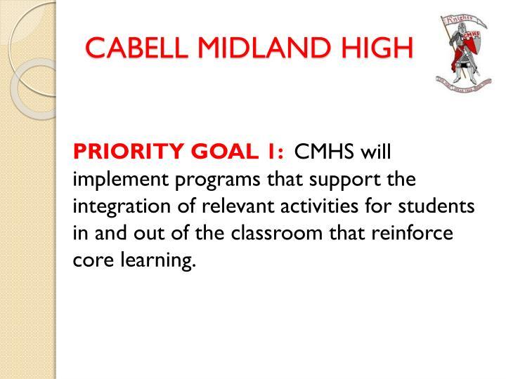 Cabell midland high