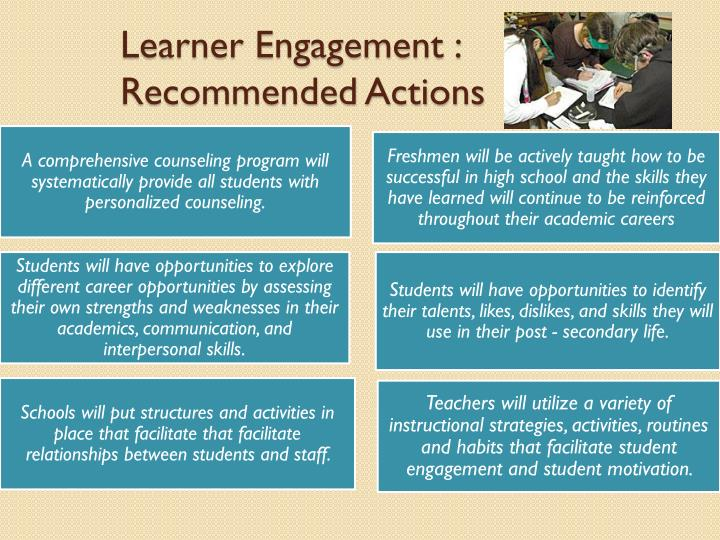 Learner Engagement :