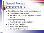 general process improvement 2