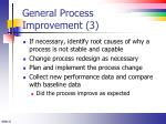 general process improvement 3