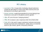 ifc s history