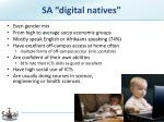sa digital natives