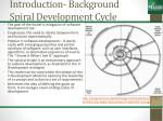introduction background spiral development cycle