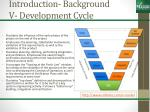 introduction background v development cycle