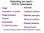 extending our reach cco in cyberspace