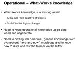 operational what works knowledge1