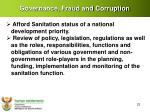 governance fraud and corruption1