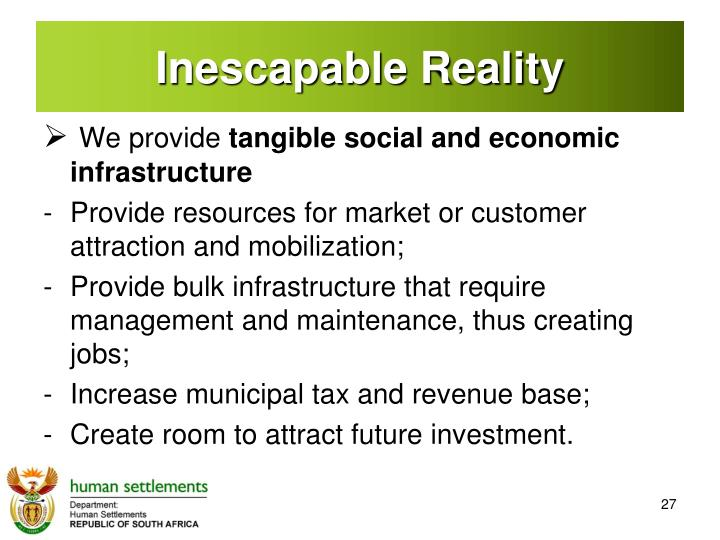Inescapable Reality