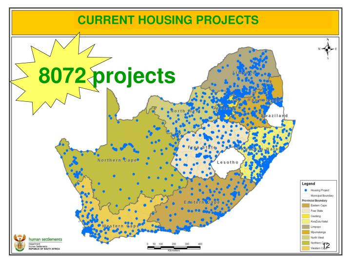CURRENT HOUSING PROJECTS