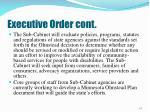 executive order cont