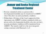 jensen and anoka regional treatment center
