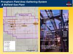 pronghorn field area gathering system belfield gas plant
