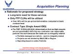 acquisition planning1
