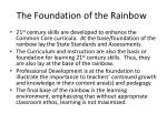 the foundation of the rainbow
