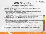 gmap execution implement planning with process