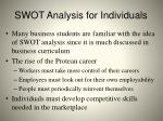 swot analysis for individuals1