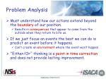 problem analysis1