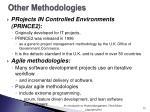 other methodologies