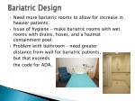 bariatric design