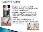 locator systems