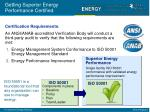 getting superior energy performance certified